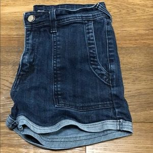 Wilfred high waist denim shorts